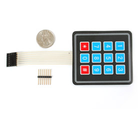 3x4 Membrane Matrix Keypad
