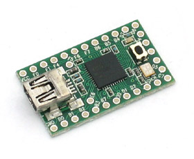 Teensy ATmega32u4 USB Dev Board