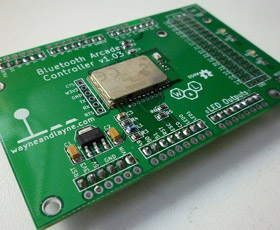 Bluetooth Arcade Controller Shield