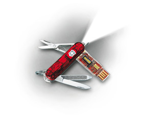 Victorinox Secure - Biometric Flash