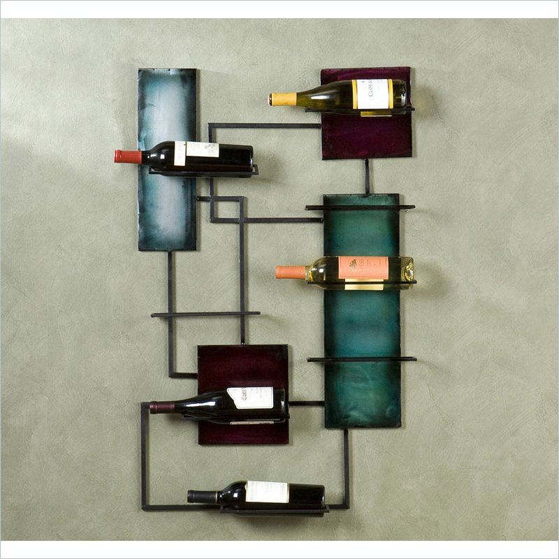 Santa Maria Wine Storage Wall Sculpture