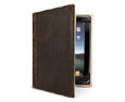 Old Leather Book Case for iPad
