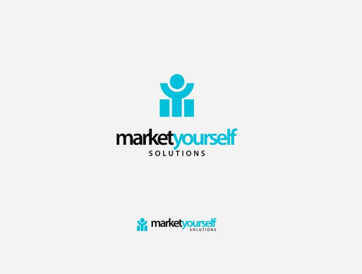 Online marketing logo design