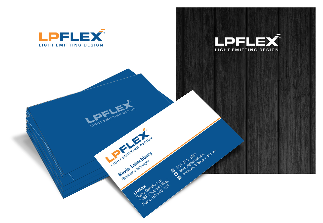 Business cards with logo design - oukas.info