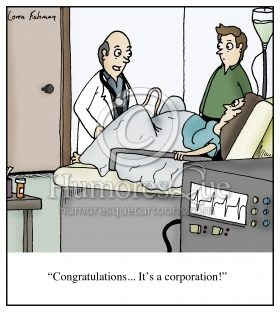 birthing a corporation citizens united campaign finance republicans cartoon