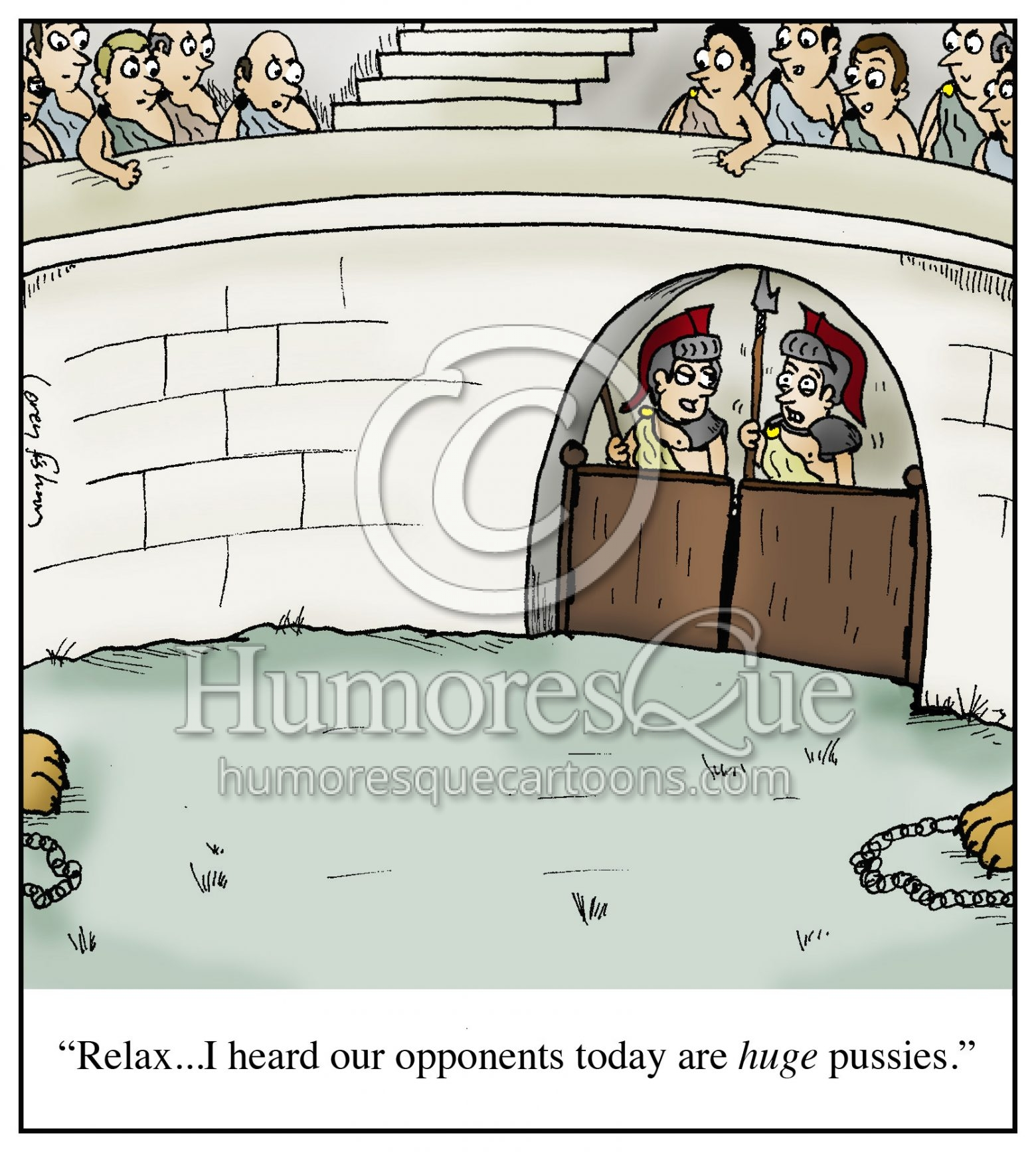 huge pussies ancient rome gladiator cartoon