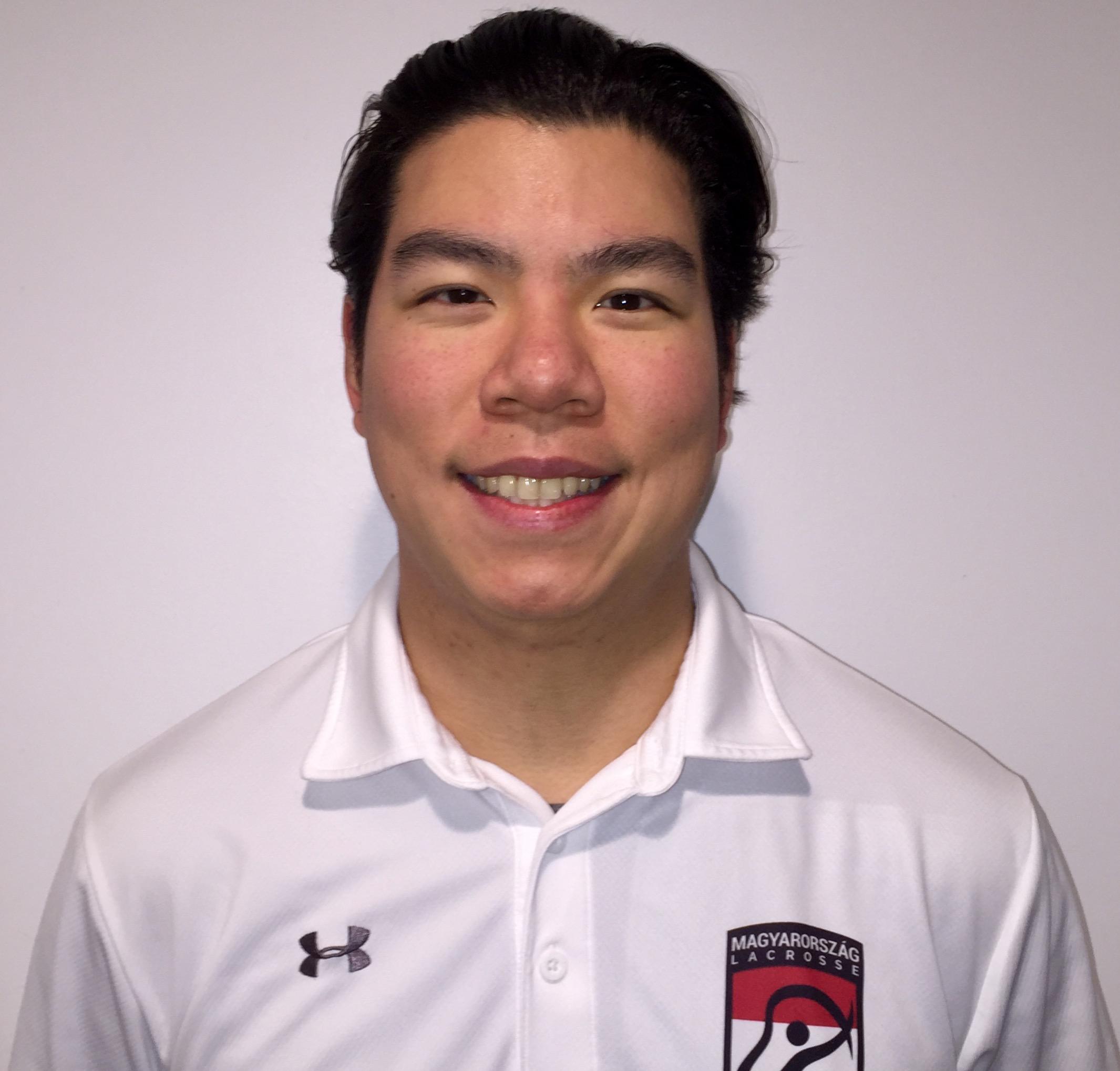 Hungary Lacrosse Defensive Coordinator, Jonathan Yen