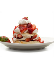 Strawberry Shortcake w/ Ice Cream, Average