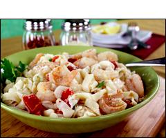 HG's Super-Delicious Shrimp Scampi with Fettuccine