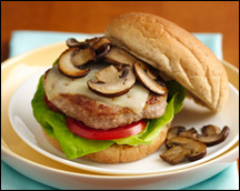 HG's Too-Beautiful Turkey Burger