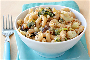 Hungry Girl's Roasted Veggie Mac & Cheese