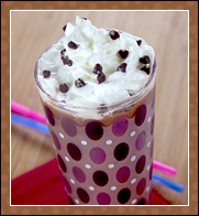Hungry Girl's Cherry Bomb Iced Mocha