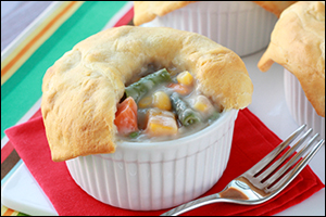 Hungry Girl's Mini Veggie Pot Pies