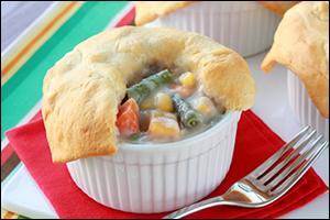 Hungry Girl's Mini Veggie Pot Pies