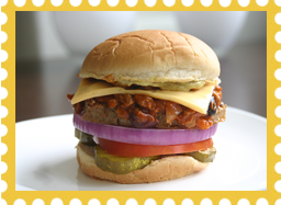 Hungry Girl's Chili-rific Cheeseburger
