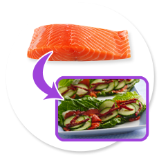 Salmon for Hair and Skin