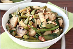 Hungry Girl's Big Green Stir-Fry