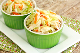 Hungry Girl's Sunomono Slaw