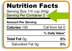 HG Diet Mistake: Not Reading Nutritional Labels Closely
