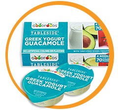 GoodFoods Tableside Greek Yogurt Guacamole