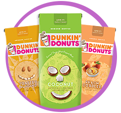 Dunkin' Donuts Limited Edition Spring & Summer Flavored Coffee