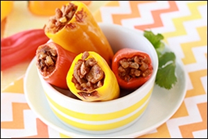 Hungry Girl's Mini Stuffed Peppers