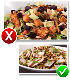 California Pizza Kitchen Moroccan-Spiced Chicken Salad