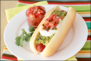Hungry Girl's Mexicali-Style Hot Dog