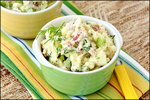 Hungry Girl's Bacon 'n Dill Potato Salad