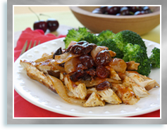 Hungry Girl's Cha-Cha-Cherry BBQ Chicken Pack