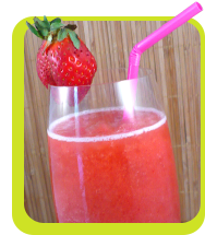 Hungry Girl's Slammin' Slimmed-Down Strawberry Daiquiri