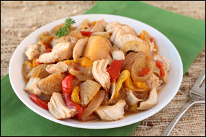 Hungry Girl's Hawaiian Crock-Pot Chicken