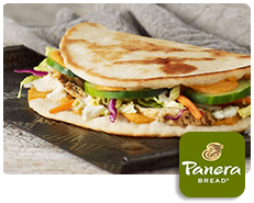 Panera Bread Flatbread Sandwiches