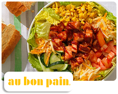 Au Bon Pain BBQ Chicken Salad