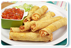 Hungry Girl's Two-Cheese Taquitos