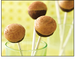 Desserts with 100 Calories or Less: HG's Chocolate PB Cake Pops