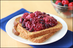 Hungry Girl's PB&J French Toast