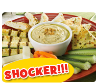 Red Robin Shocker: Hummus Plate