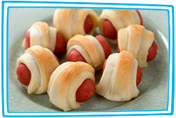 Hungry Girl's De-Pudged Pigs in a Blanket