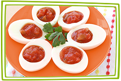 Hungry Girl's Salsa-fied Egg White Bites