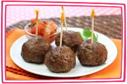 Hungry Girl's Taco Meatballs