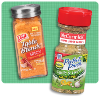TOP ATE Pantry Staples: Salt-Free Seasoning Mixes