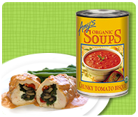 TOP ATE Pantry Staples: Amy's Organic Chunky Tomato Bisque