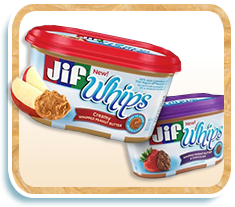 Jif Whips Peanut Butter Spread