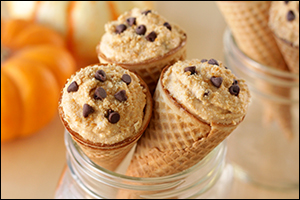 Hungry Girl's Pumpkin Pie Cannoli Cones