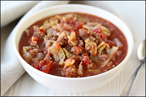 Hungry Girl's Cabbage Roll Stew