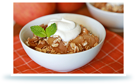 Hungry Girl's Ooey-Gooey Slow-Cooker Apple Goodness