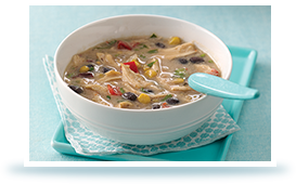 Hungry Girl's Yippee-Ki-Yay Spicy Southwest Chicken Chowder