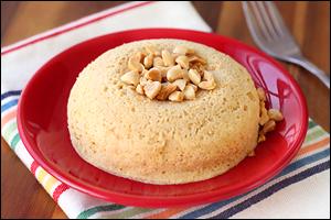 Hungry Girl's PB Protein Mug Cake