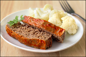 Hungry Girl's Buffalo Ranch Meatloaf